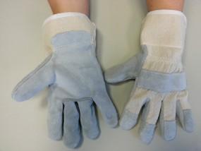 Arbeitshandschuhe aus Spaltleder
